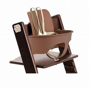 Tripp Trapp Babyset : stokke tripp trapp high chair walnut brown baby ~ Watch28wear.com Haus und Dekorationen