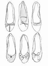 Coloring Ballerina Ballet Shoe Template Bulkcolor Cut Toe Colouring Bulk sketch template