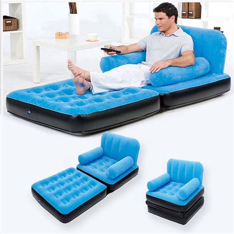 pull out sofa single air bed