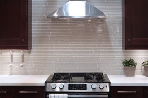 contemporary kitchen tile