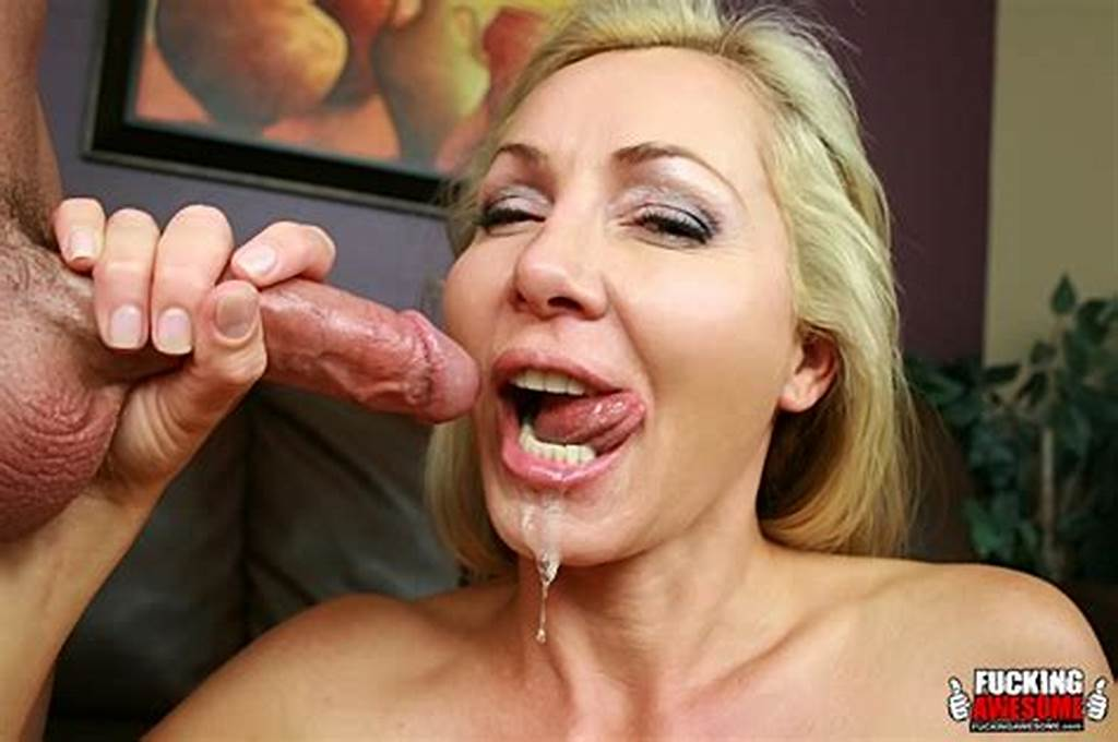 #Lisa #Demarco #Gets #A #Full #Facial #From #Sucking #Cock