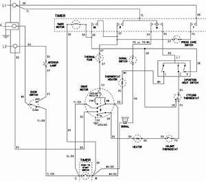 Maytag Model Mde308dayw Residential Dryer Genuine Parts