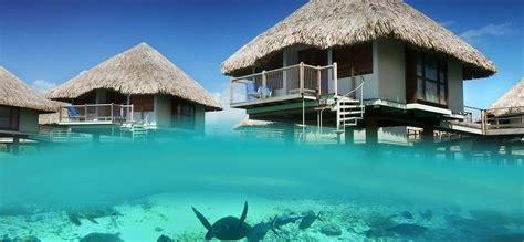 hotel bora bora le meridien guest room overwater