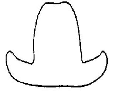 cowboy hat template cowboy hat template cake ideas and designs