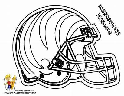 Coloring Pages Nfl Helmet Football Helmets 49ers