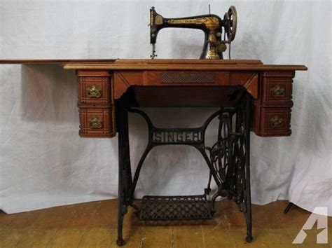 sewing cabinets for sale antique 1896 model 27 singer treadle sewing machine in