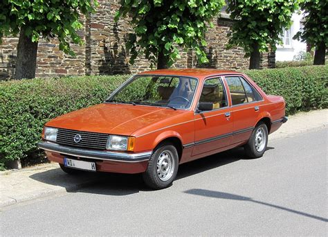 Opel Rekord by Opel Rekord E