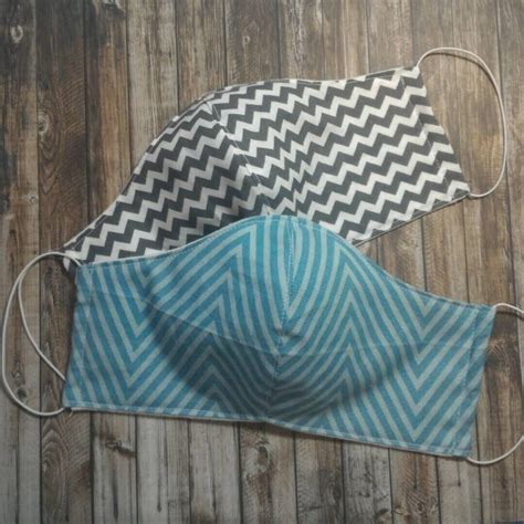 Choosing a cloth face mask pattern is a personal choice depending on what you prefer to sew and what you prefer to wear. TeamRusscher shared a new photo on Etsy | Allergy mask ...