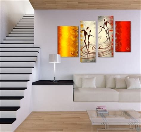 african dance canvas painting artwall