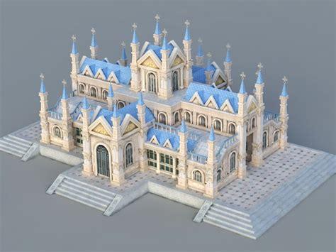 catholic church  model ds max files