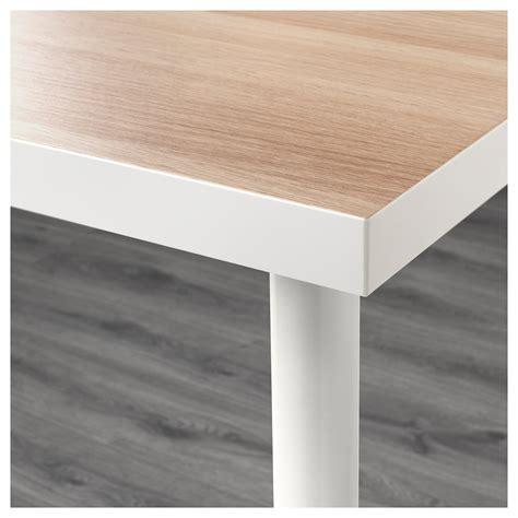 ikea tafel alex alex linnmon tafel wit wit gelazuurd eikeneffect wit 120 x