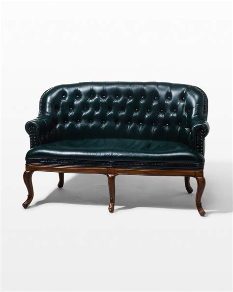 Chesterfield Settee by Co018 Freeman Chesterfield Settee Prop Rental Acme