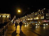 St. Petersburg Russia at Night