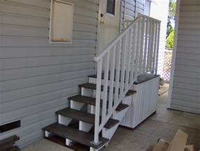 Mobile Home Steps with Deck