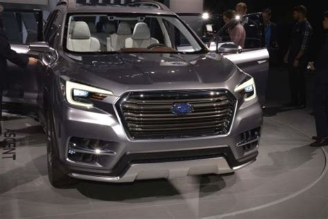subaru ascent       suv models