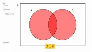 Venn Diagram Shading With 2 And 3 Sets  U2013 Geogebra