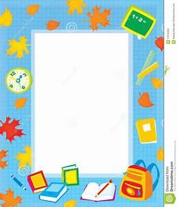 School Page Border - Cliparts.co