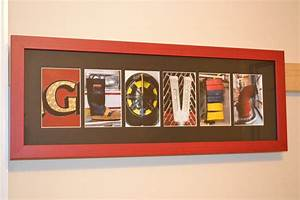 6 letter name personalized firefighter letter by With firefighter letter art