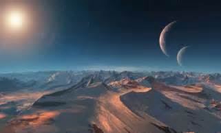 Decouverte D Une Nouvelle Planete Similaire A La Terre by Exoplanet Landscape Pics About Space