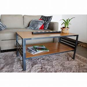 Design Occasion : table basse design style industriel ~ Gottalentnigeria.com Avis de Voitures