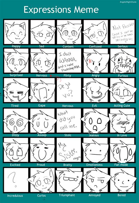Expressions Meme - expressions meme 28 images tildeberry till you get too low deviantart the gallery for gt