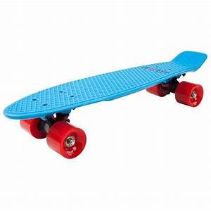 Cruiser Skateboard Trucks : d street polyprop 23 inch skateboard cruiser blue red ~ Jslefanu.com Haus und Dekorationen
