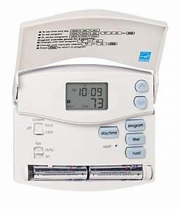 Hunter 44110 Set  U0026 Save Programmable Thermostat Hunter