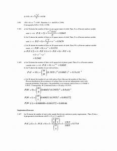 Applied Statistics And Probability For Engineers 5th