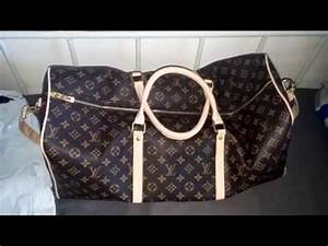 LOUIS VUITTON TRAVEL BAG REVIEW!!! ioffer - YouTube