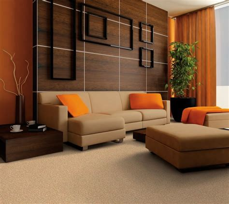 14 ways to bring burnt orange into your home this fall. Impressive Burnt Orange And Brown Living Room Decor Of ...