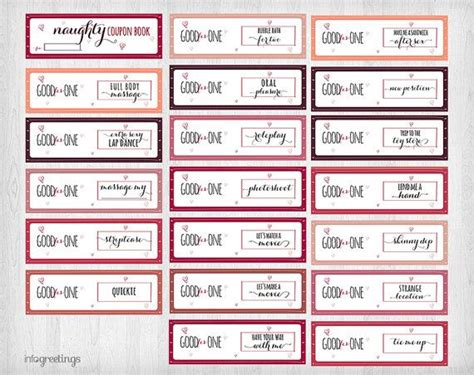 Boyfriend Coupon Printable Template by Printable Naughty Coupons For Boyfriend Husband