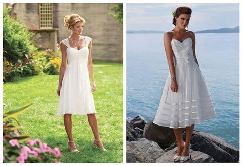 Short Casual Beach Wedding Dresses