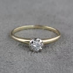 vintage wedding bands vintage engagement ring