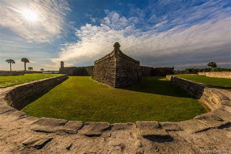 fortress castillo de san marcos photography
