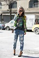 Glam Rock - Best Street Style from New York Fashion Week ...