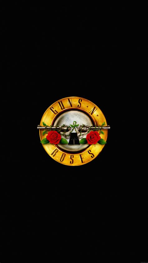 ac74 wallpaper guns n roses logo music dark Papers co