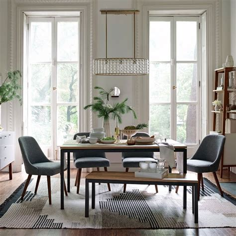 daily find west elm box frame dining bench copycatchic