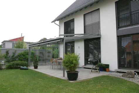 Moderne Häuser Balkon by Terrassen 252 Berdachung Fensterbau Weber Terrasse