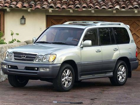 2001 Lexus Lx 470 Suv Specifications, Pictures, Prices