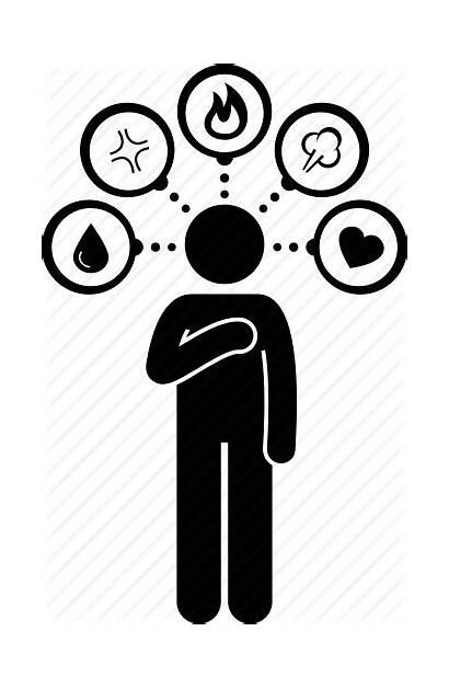 Icon Sensitive Emotions Feeling Person Transparent Emotional