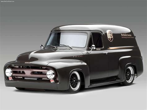 Ford Fr100 Panel Truck With Cammer Engine 2003 Wallpaper