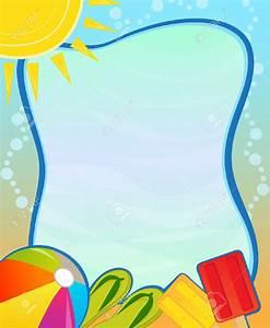 Beach Border Clipart – 101 Clip Art