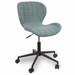 Chaise De Bureau Bleu : chaises tables et chaises zuiver chaise de bureau omg ~ Teatrodelosmanantiales.com Idées de Décoration