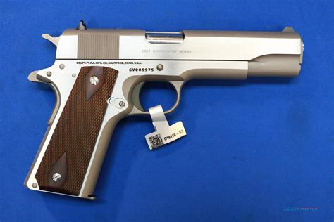 Colt 1911 Government Classic Stainless 45 Acp For Sale