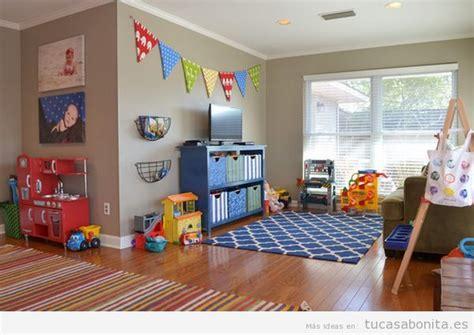ideas  decorar la salita de juego de los ninos en casa