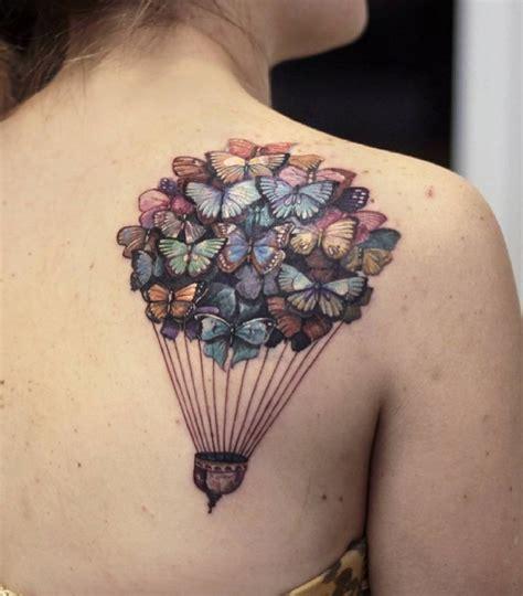romantic hot air balloon tattoos page    tattoomagz