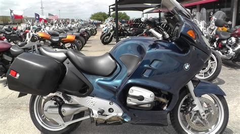 E91092  2004 Bmw R1150rt  Used Motorcycles For Sale
