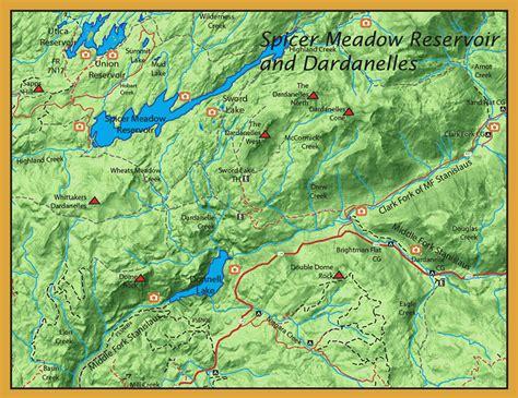 spicer meadows reservoir westside sierra