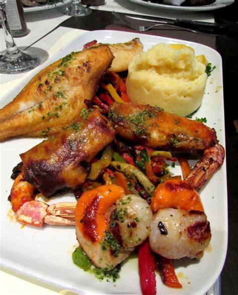 la cuisine de la mer fruits de mer et poisson parillada de la mer