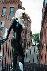 Black cat and peter parker by *Giorgiacosplay | latex xxx ...